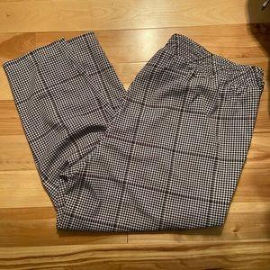 Torrid pull on plaid pants